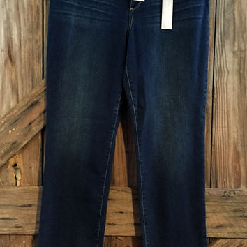 Chico's So Slimming New Size 2.5 Reg Jeans $99 Slim Leg 32""
