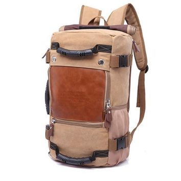 Canvas Backpack Shoulder Bag