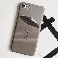 UFO Case for iPhone 7 7Plus iPhone se 5s 6 6 Plus Best Protection Cover +Gift Box
