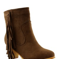 Tory Fringe Bootie