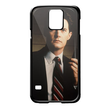 diane twin peaks agent cooper for Samsung Galaxy S5 Case