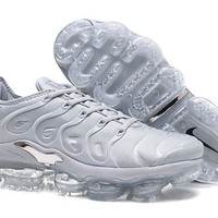 Air VaporMax TN 2018 Plus Silver Sport Shoe 40-45