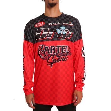 Drip FMX Motocross Jersey Long Sleeve