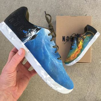 Custom Hand Painted Game of Thrones Themed NOBULLS!!! Winter is Here!!