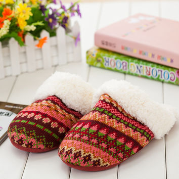 Home Winter Cotton Slippers [8102199169]