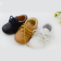 Leather Baby First Walkers Antislip For Baby Boy Girl Genius Baby Infant Shoes
