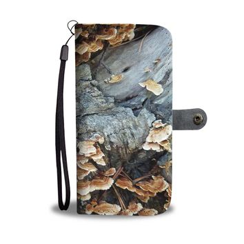 Turkey Tail Mushroom RFID Phone Case