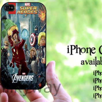 Lego Avengers for galaxy s3,s4 case ,iPhone 4 case, iPhone 4s case, iPhone 5 case, iPhone 5s case, iPhone 5C case