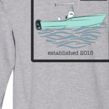 Marker Nine Center Console Boat Long Sleeve T-Shirt