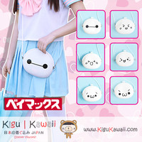 New Lovely and Awesome Emoji Face Emoticons and Baymax White High Quality Body Bag 6 Designs KK583