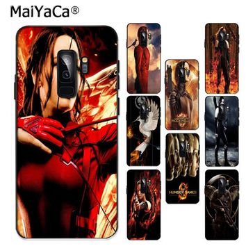 MaiYaCa The Hunger Games Clear Silicon Ultra Thin Phone Case for Samsung S9 S9 plus S5 S6 S6edge S6plus S7 S7edge S8 S8plus