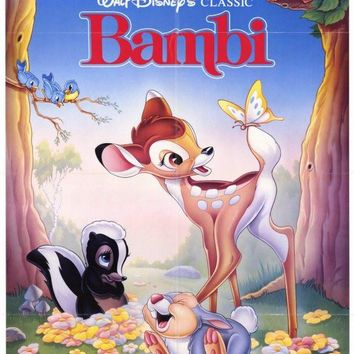 Bambi 11x17 Movie Poster (1988)