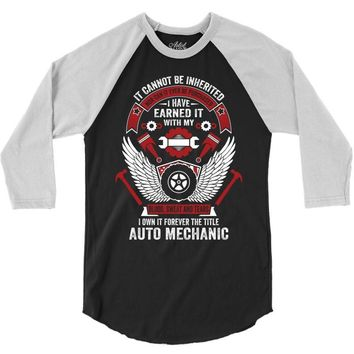 I Own It Forever The Title Auto Mechanic 3/4 Sleeve Shirt