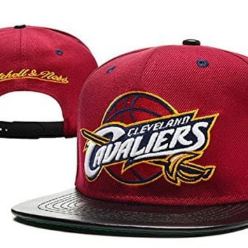 Unisex Hip Hop Cleveland Cavaliers Fans Support Hats Snapback Baseball Caps (Style 28)