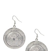 Jess Large Coin Earrings