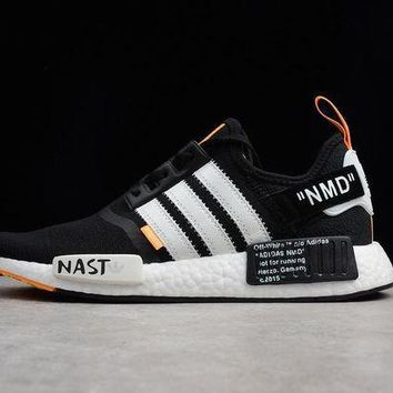 PEAPNT Adidas NMD x OFF White Boost Men Sneaker BA8860