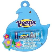 Peeps Cotton Candy Marshmallow Scented Lip Balm BLUE