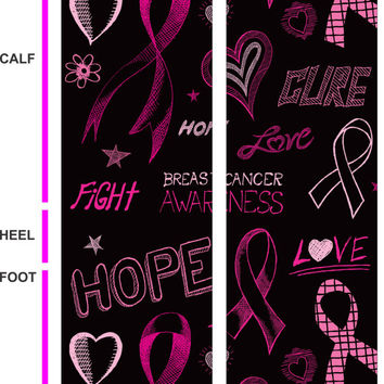 Breast Cancer Awareness - Socks