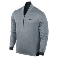 Nike TW Cypress Shield 1/2-Zip Men's Golf Shirt Size Large (Grey)
