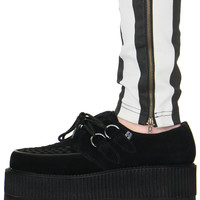 LUIZA SUEDE CREEPER