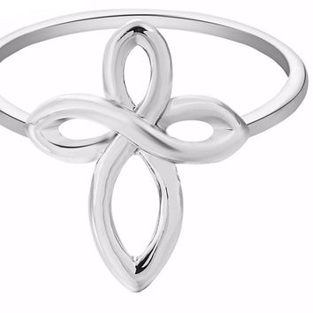 new infinity cross ring