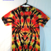 T-shirt Tie Dye - Tiger, Tiger - Unisex Shirt - Hippie Fashion - Festival Wear