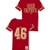San Francisco 49ers Athletic Tee - PINK - Victoria's Secret