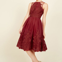 Radiant Reunion Lace Dress