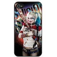 LIMITED TIME Harley Quinn Hard Phone Case For iPhone 4 4S 5 5S SE 5c 6 6s Plus