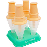 SUNNYLIFE Ice Cream Popsicle Molds 4 Pack | Toys & Novelties