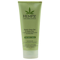 Hempz Exfoliating Herbal Cleansing Mud & Body Mask-Exotic Green Tea & Asian Pear 6.76 Oz