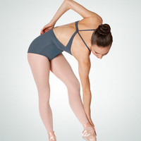 Body Wrappers: Modified Open Back Camisole Leotard