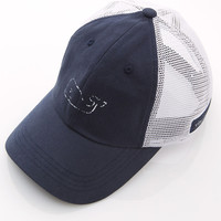 Vineyard Vines - Vintage Whale Graphic Trucker Hat