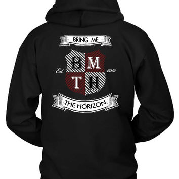 Bring Me The Horizon Est 2016 Retroold School Style Hoodie Two Sided