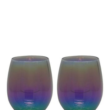 TMD HOLDINGS | Electro Stemless Wine Glass - Set of 2