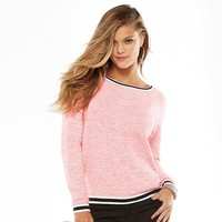 Juicy Couture Marled Neon Pullover Sweater