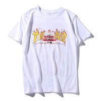 Thrasher Supreme Short sleeve T-shirt