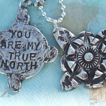 His and Hers My True North Jewelry Gift Set