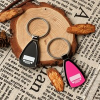 Newest 3D car Key Chain for Jeep Enthusiasts - Perfect Gift Stainless steel key chains key rings For Any Jeep Owner Pink/Black