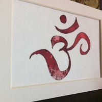 Om #Muladhara #Chakra #Om #Root Chakra #Wall Art #Home Decor #Yoga #Buddhist #Hindu #Art #Print