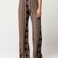 SKY AND SPARROW Linear Medallion Womens Pants | Pants + Joggers
