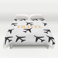 Travel Duvet Cover by Yasmina Baggili