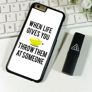 When Life Gives You Lemons iPhone 6 Plus | 6S Plus Case Planetscase.com