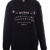 Autbox Holographic Ouija Jumper | Attitude Clothing