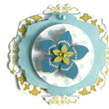 Flower, Scrapbook Embellishment, Paper piecing, gift tags, Scrapbooking Layouts, Cards, Mini Albums, brag book, Paper Crafts, journal