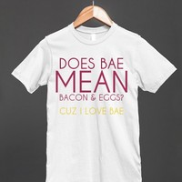 Does Bae mean?