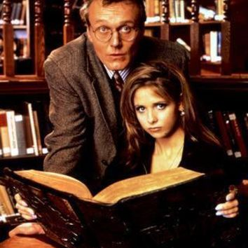 """Buffy The Vampire Slayer Cast Poster Giles Buffy Library 16""""x24"""""""