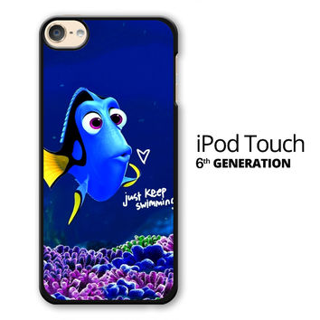 Just Keep Swimming Dory iPod Touch 6 Case