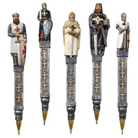 Park Avenue Collection S/5 Templar Knights Pens