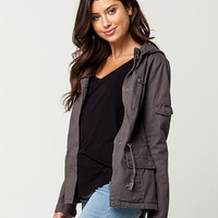 SKY AND SPARROW Twill Womens Anorak Jacket | Jackets